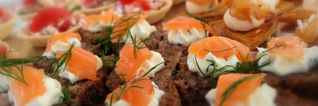 Canape and BBQ's for Corporate Catering