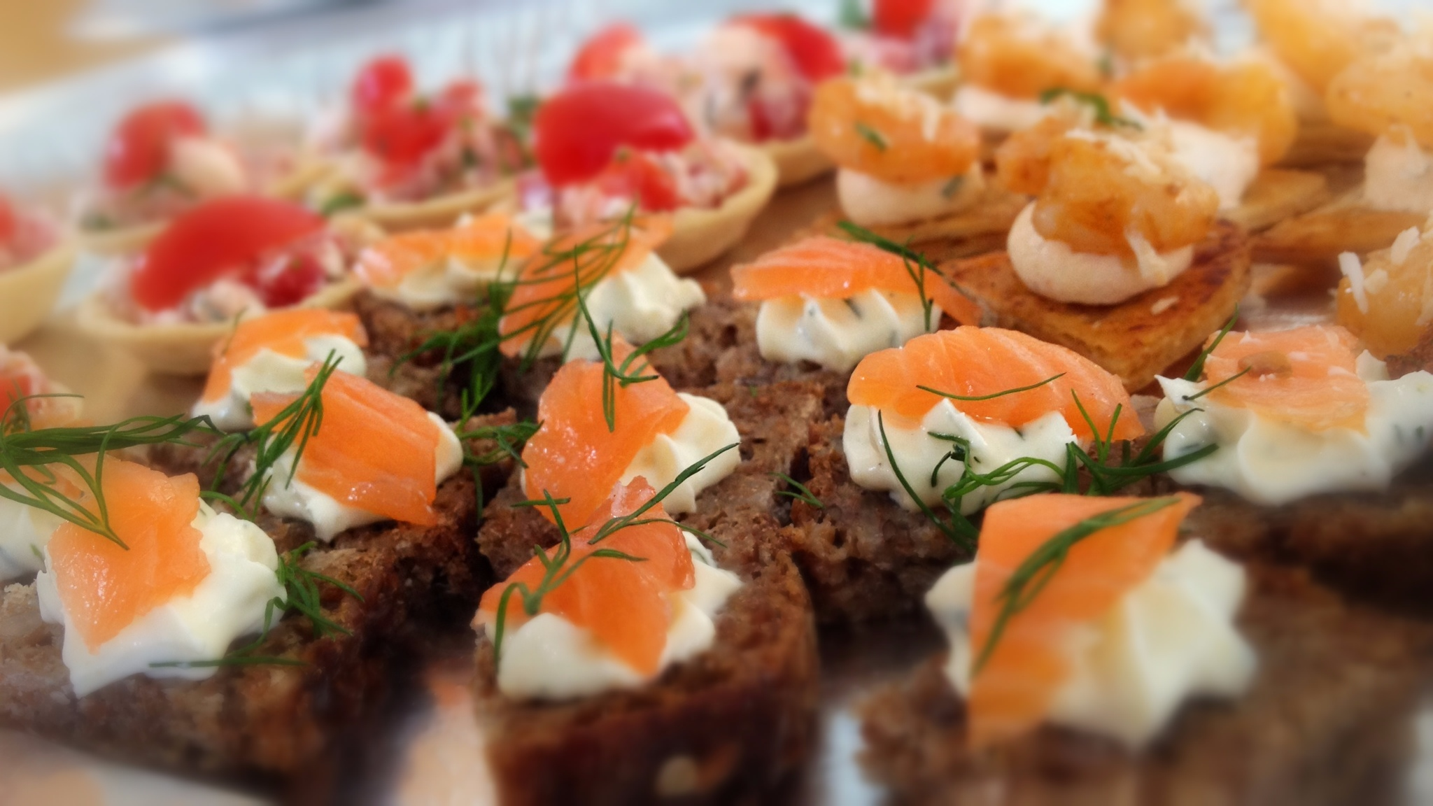 Canape and bbq 39 s for corporate catering made by mary for Canape catering
